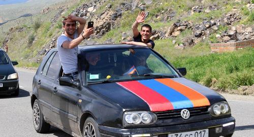 Պատկերներ партии и НПО Армении հարցումով