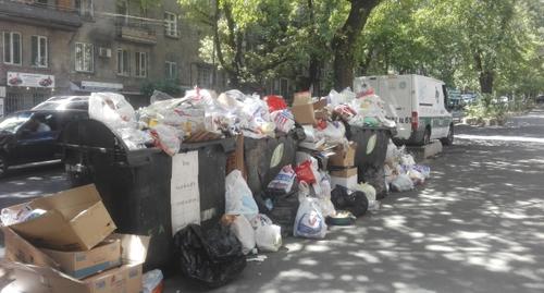 Image result for мусор в ереване