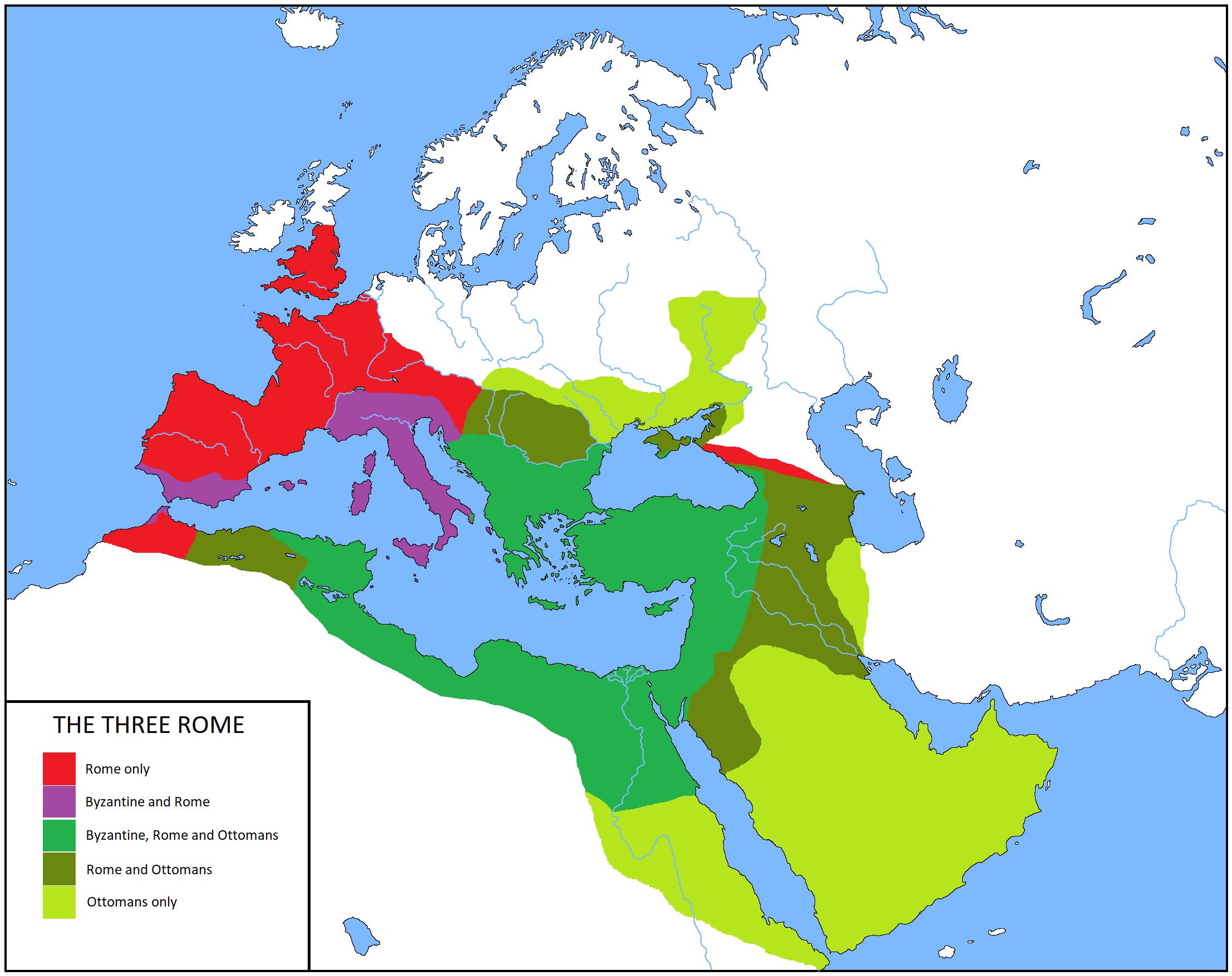 какое место в мире занимала византийская империя